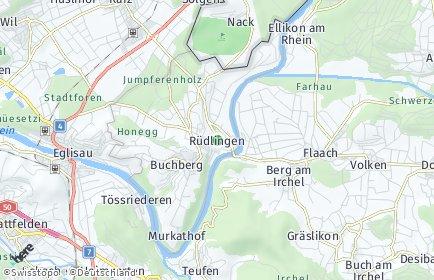 Stadtplan Rüdlingen