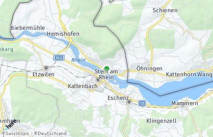 Stadtplan Stein am Rhein