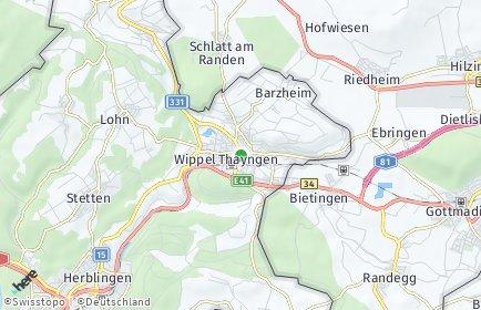 Stadtplan Thayngen