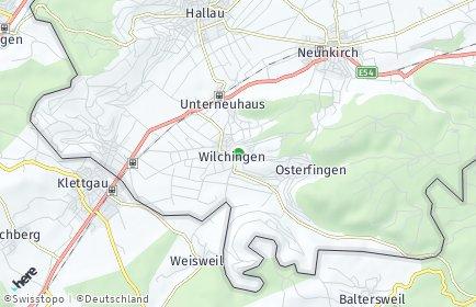 Stadtplan Wilchingen