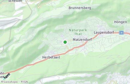 Stadtplan Aedermannsdorf