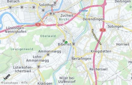 Stadtplan Biberist