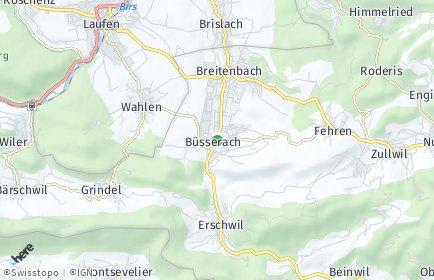 Stadtplan Büsserach