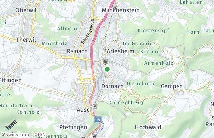 Stadtplan Dornach