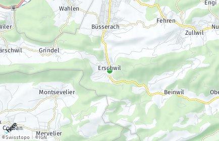 Stadtplan Erschwil