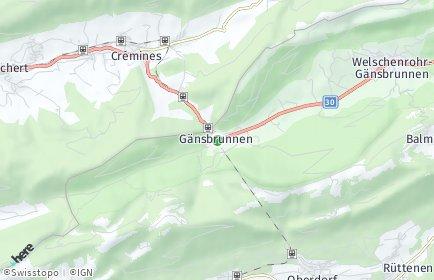 Stadtplan Gänsbrunnen