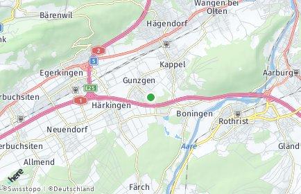 Stadtplan Gunzgen