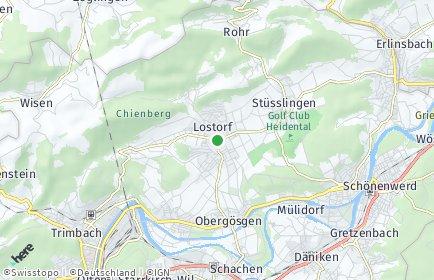 Stadtplan Lostorf