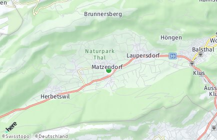 Stadtplan Matzendorf
