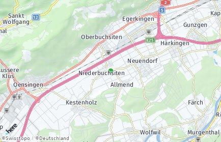 Stadtplan Niederbuchsiten