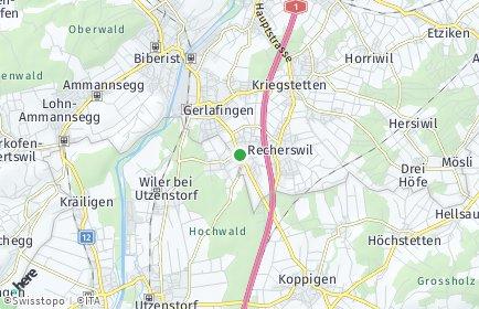 Stadtplan Obergerlafingen