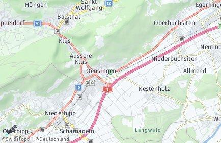 Stadtplan Oensingen