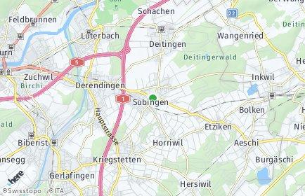 Stadtplan Subingen
