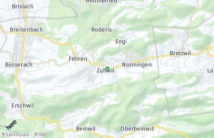 Stadtplan Zullwil