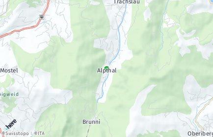 Stadtplan Alpthal