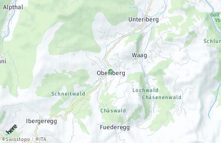 Stadtplan Oberiberg