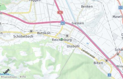 Stadtplan Reichenburg