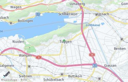 Stadtplan Tuggen