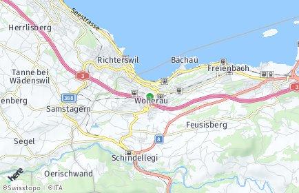 Stadtplan Wollerau