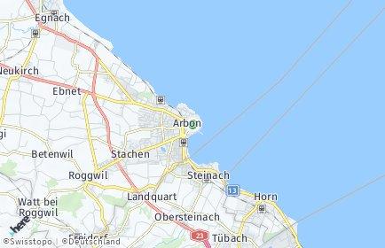 Stadtplan Arbon