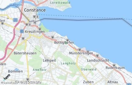 Stadtplan Bottighofen