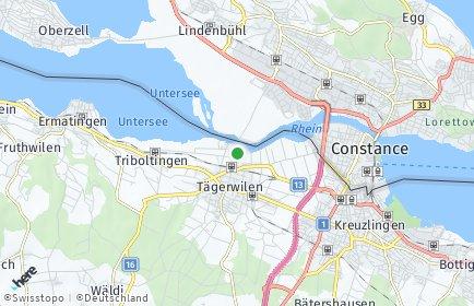 Stadtplan Gottlieben