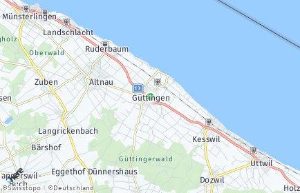 Stadtplan Güttingen