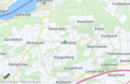 Stadtplan Homburg
