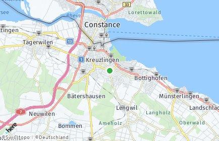 Stadtplan Kreuzlingen