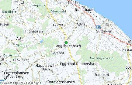 Stadtplan Langrickenbach