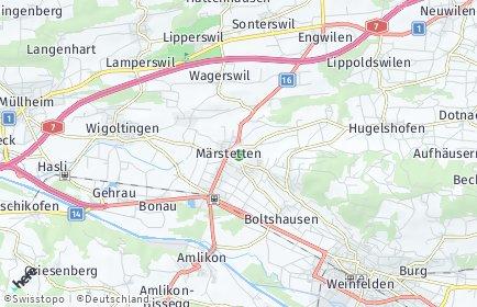 Stadtplan Märstetten