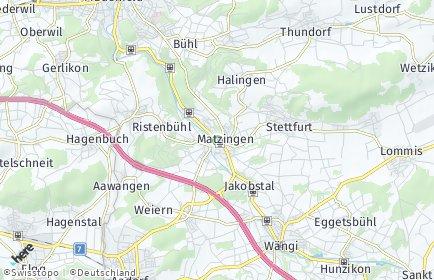 Stadtplan Matzingen