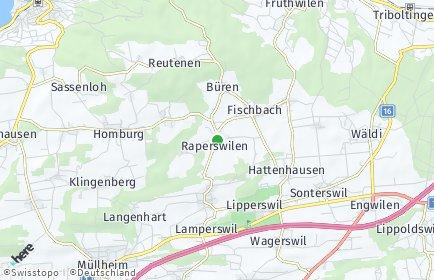 Stadtplan Raperswilen