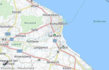 Stadtplan Salmsach