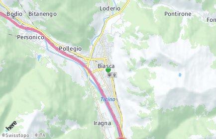 Stadtplan Biasca