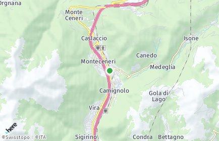 Stadtplan Monteceneri