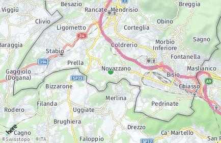 Stadtplan Novazzano