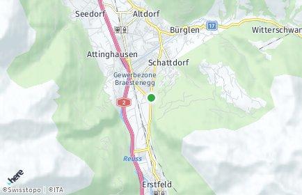 Stadtplan Schattdorf