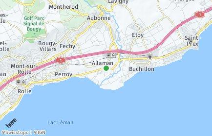 Stadtplan Allaman
