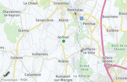 Stadtplan Gollion