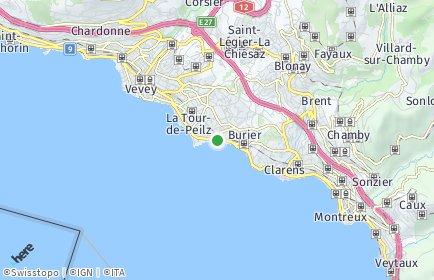 Stadtplan La Tour-de-Peilz