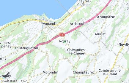 Stadtplan Rovray