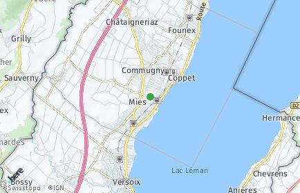 Stadtplan Tannay