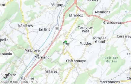 Stadtplan Trey