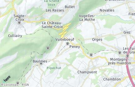 Stadtplan Vuiteboeuf