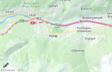 Stadtplan Agarn