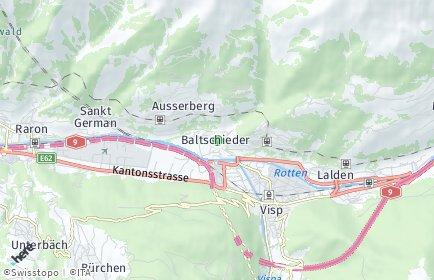 Stadtplan Baltschieder