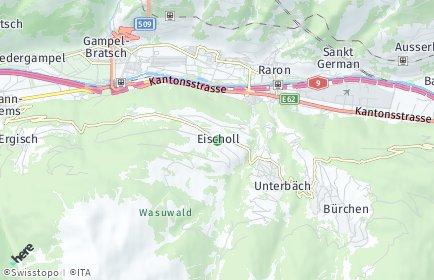 Stadtplan Eischoll