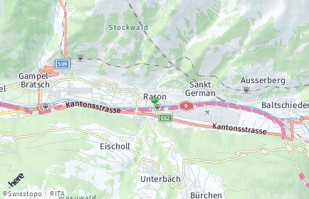 Stadtplan Raron