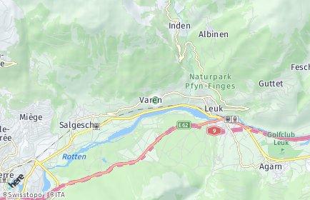 Stadtplan Varen